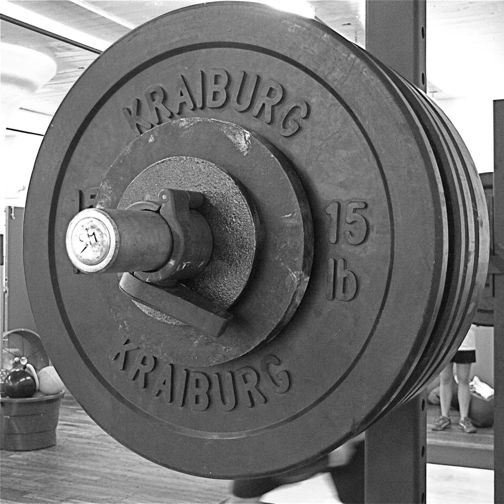 схема построения силовой тренировки